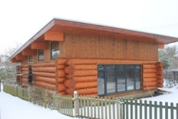 The Log House Company : traditional log buildings, log cabins, log houses, garden buidings